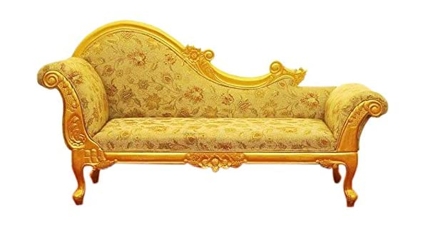 Tayyaba Enterprises Teak Wood Sofa Couch Gold Amazon In Home