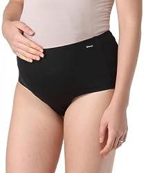 Morph Black Maternity Hygiene Panty (Large)