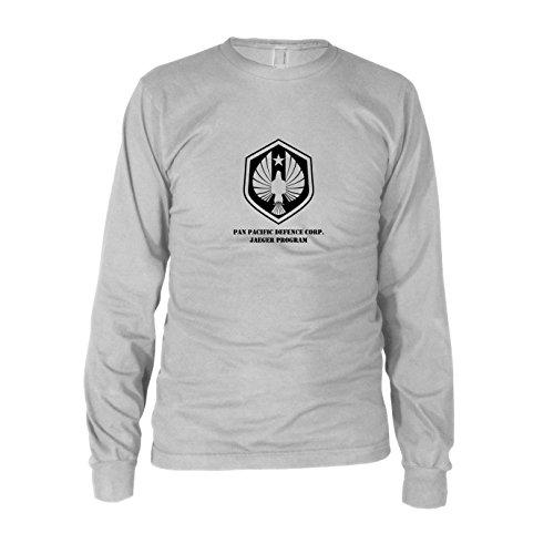 Rim Jaeger Pacific Kostüm - Jaeger Program - Herren Langarm T-Shirt, Größe: XXL, Farbe: weiß
