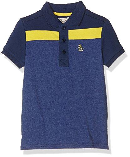 original-penguin-boys-colour-block-panel-polo-shirt-blue-indigo-5-6-years