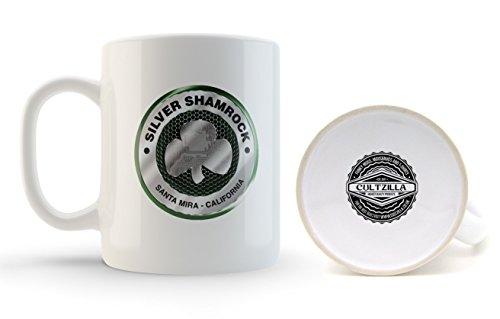 Silver Shamrock Halloween III Mug by Cultzilla (Halloween Silver Shamrock)