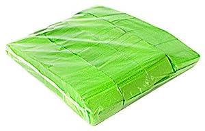 Ohfx Confetti rectangular Color verde claro (Rec-VC