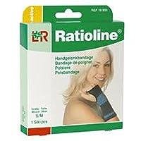RATIOLINE active Handgelenkbandage L/XL, 1 St preisvergleich bei billige-tabletten.eu