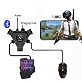 Leoie PUBG Mobile Gamepad Controller Gaming Keyboard Mouse Converter for Android Phone to PC Bluetooth Adapter Converter
