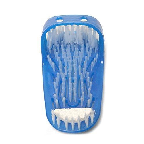 1pièce de salle de bain douche Pieds Douche Brosse Brosse masseur Chaussons Pied Cleanning Poils Pantoufle Pied à récurer Pinceaux masseur à coller au sol