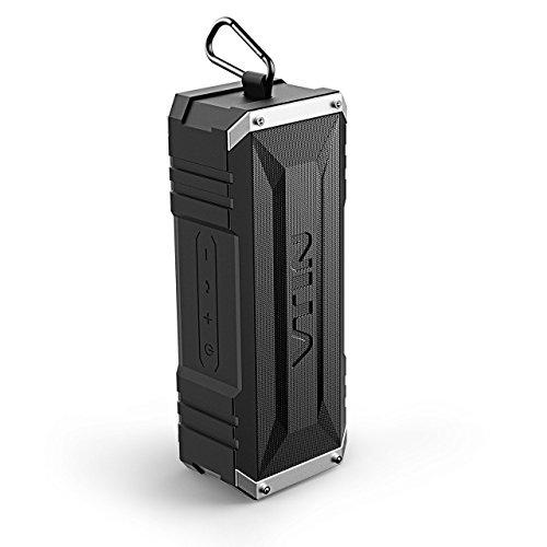 VTIN Bluetooth Lautsprecher tragbarer mit unglaublicher 25-Stunden-Akkulaufzeit und 20W Dual-Treiber, Wasserdicht Outdoor Speaker mit eingebautem Mikrofon für iPhone, iPad, Samsung, und andere - Stereo Wasserdicht Mini