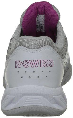 K-Swiss - Scarpe sportive, Donna Grigio/Nero/Bianco