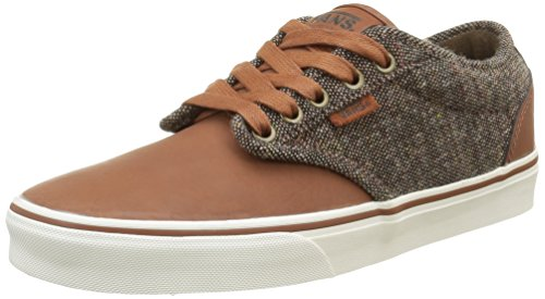Vans Atwood Deluxe, Baskets Basses Homme Marron (Tweed Tortoise/Marshmallow)