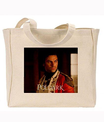 Offizielles poldark Merchandise wiederverwendbar Umweltfreundlich Seitenfalte Canvas Tasche Ross in Uniform S2 (Uniform Offizielle)