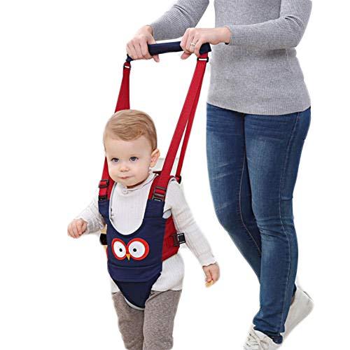 hilfe Gehhilfe für Stehen Gehen Laufen Fuß Assistent Helfer Sicherheitsgurt Laufgurt Schutzgurt für Kinder 6-27 Monaten (Blau) ()