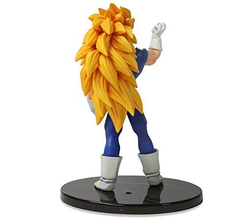 "Banpresto Dragon Ball Heroes Figure with Card 6"" Super Saiyan Vegeta Action Figure 4"