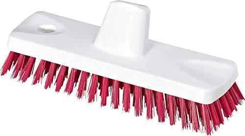 Nölle 18322352 HACCP-Balai-brosse Blanc/Rouge, 23 cm/0,5 mm