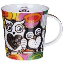 Dunoon Hooters Owl Design Lomond Shape Tasse