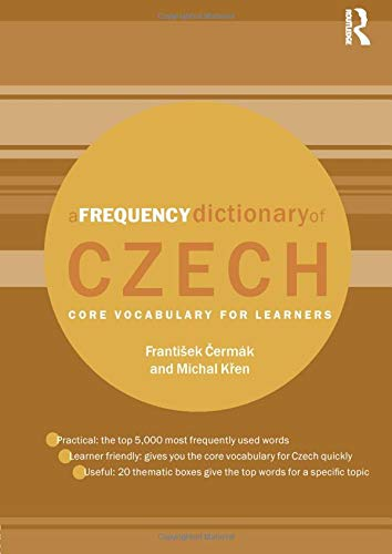 A Frequency Dictionary of Czech (Routledge Frequency Dictionaries)