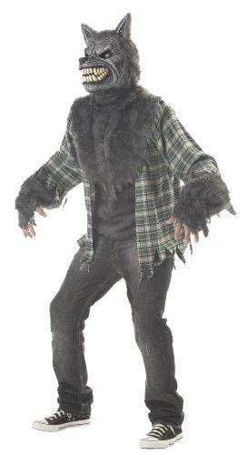 Werwolf Kostüm Wolf Horror Halloween Karneval Verkleidung Erwachsene Herren Medium (Wolf Und Werwolf Kostüme)