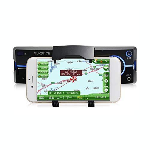 Yaoaomon Freisprechen U Disk Radio Auto MP3-Player mit Handy-Ständer Rack Silber & schwarz