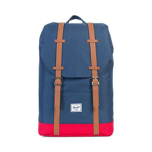 herschel-supply-mens-retreat-mid-classics-navy-red-backpack-in-size-one-size-blue