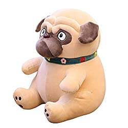 Stephanie Stuffed & Plush Animals . - 1pc 25-50cm Sand Dogs doll Stuffed Simulation Dogs Plush Sharpei Pug Lovely Puppy pet Plush Animal Toy Children Kids - by 1 PCs