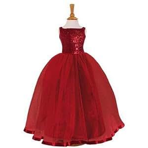 sequin ballkleid ruby kleid 7 8 jahre spielzeug. Black Bedroom Furniture Sets. Home Design Ideas