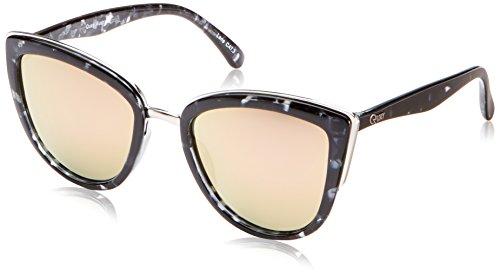Quay Eyewear Damen Sonnenbrille MY GIRL, Gr. One size, Mehrfarbig (BLKTO/PNK MIRROR)