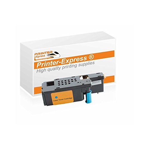 Preisvergleich Produktbild Printer-Express XL Toner 1.400 Seiten ersetzt Dell 525, 593-BBLL für Dell E525, E525W Drucker cyan