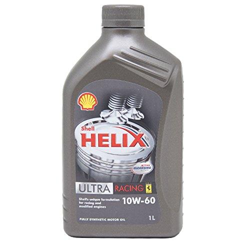 Shell Helix Ultra Racing 10w60 Olio Auto 100% sintetico 1 Litro €/lt 10,89
