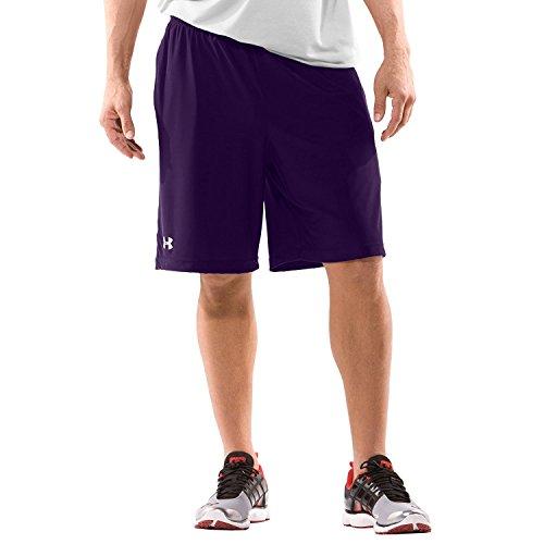 Pantaloni lunghi da uomo Team micro II by Under Armour Purple, XLG