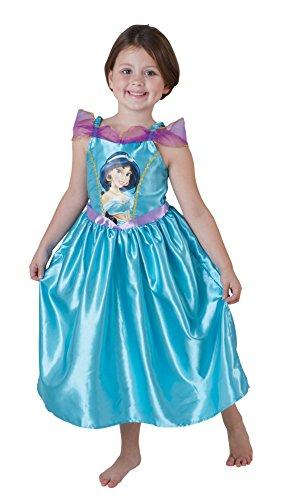 Jasmine - Disfraz de princesa para niña, talla S (3 - 4 años) (881860S)