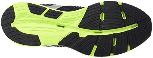 Asics Hyper Tri 3, Chaussures de Running Homme Noir (Black/Silver/Safety Yellow)