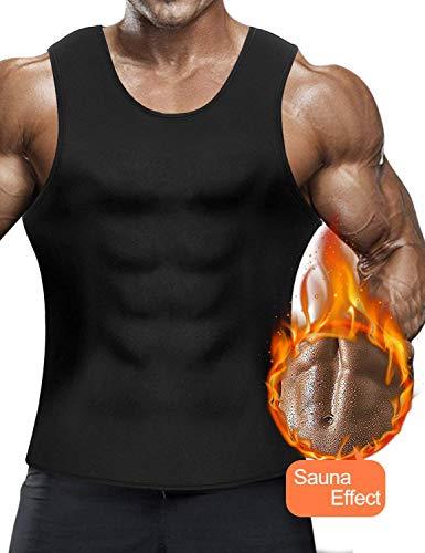 LaLaAreal Faja Reductora Adelgazante Hombre Camiseta Termica Sauna Neo