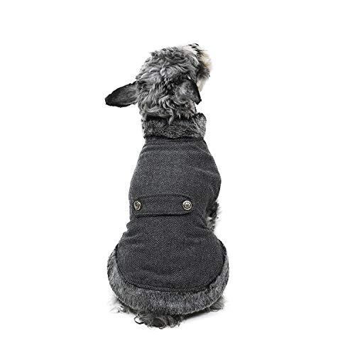 PAWZ Road Hundemantel für kleine Hunde Warm Hunde Winterjacke Wintermantel für Hund Welpe Katze