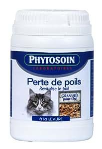 Phytosoin 094360 perte de poils chats pot de 80 g animalerie - Perte de poils chez le chat ...