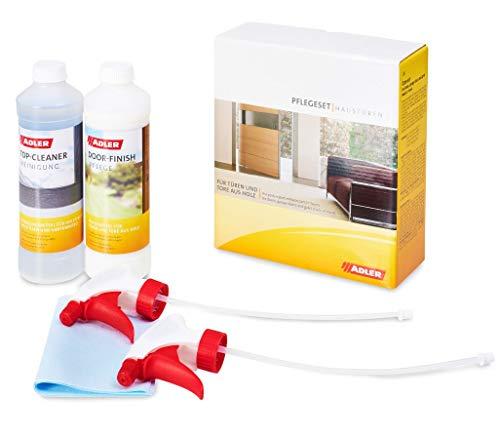 Haustüren-Pflegeset - Hochwertiges Set aus Reiniger + Pflege