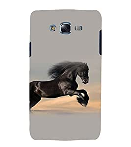 printtech Nature Animal Horse Stallion Back Case Cover for Samsung Galaxy A8 / Samsung Galaxy A8 A800F