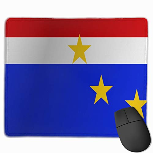 Flag of Cape Verde_42926 Mouse pad Custom Gaming Mousepad Nonslip Rubber Backing 9.8
