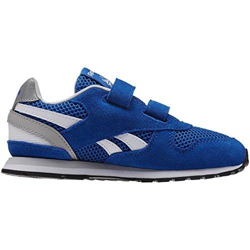 Reebok Jungen Gl 3000 2v Laufschuhe Blau / Weiß / Grau / Schwarz (blau Sport / Stahl / Weiß / Schwarz)