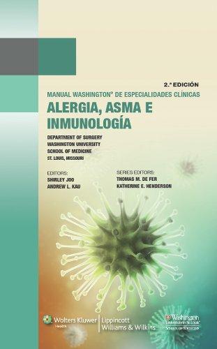 Manual Washington de alergia, asma e inmunología (Manual Washington De Especialidades Clinicas) por Shirley Joo