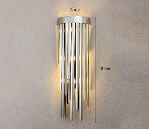 esskammern aus Edelstahl Tischleuchte - kreativ Schlafzimmer LED Lampe ()