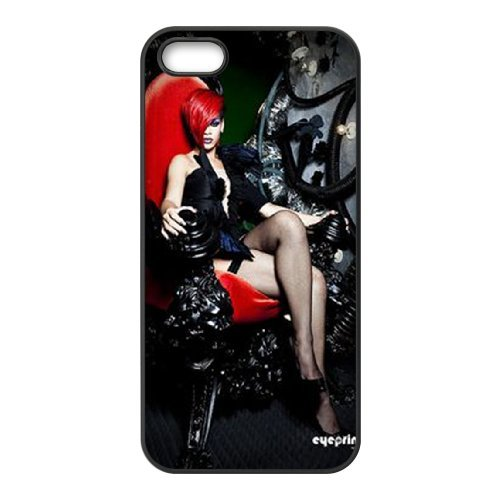 LP-LG Phone Case Of Rihanna For iPhone 5,5S [Pattern-6] Pattern-2