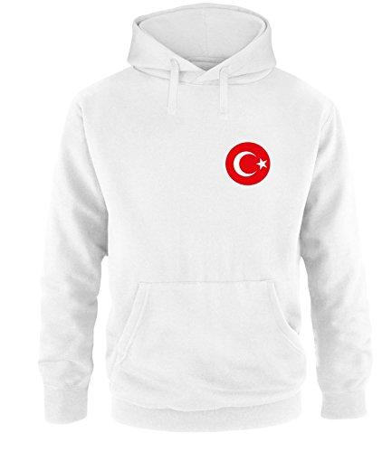 Luckja EM 2016 Trikot Türkei Fanshirt EM02 Herren Hoodie