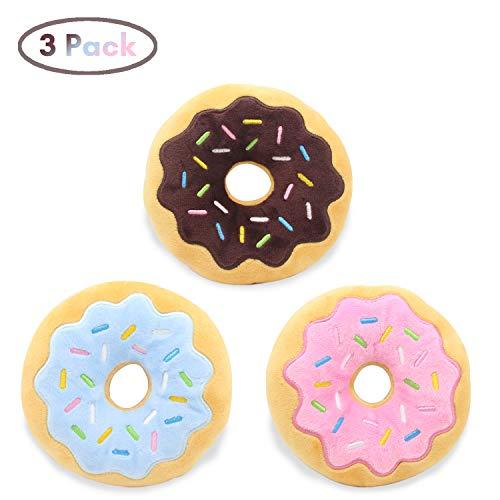 Hengu Donut Juguetes Peluche Sonido Perros Pequeños