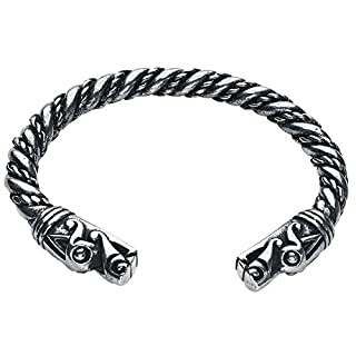Asgard Large Dragon Bracelet Bracelet Silver-Coloured