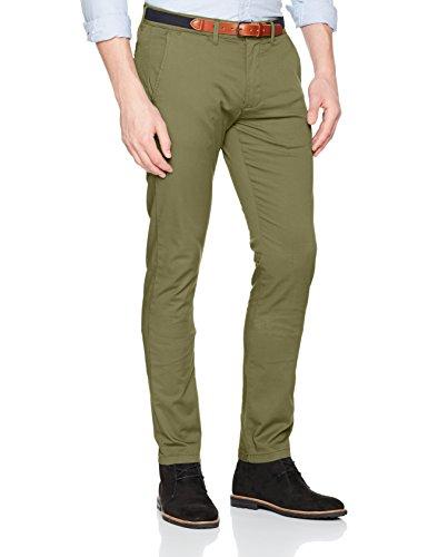 SELECTED HOMME Herren Hose Shhyard Olive Branch Slim ST Pants Noos, Grün (Olive Branch), W33/L34 (Herstellergröße: 33)