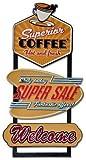 Blechschild Panels Metall Schild diner American Style–40x 77x 2cm