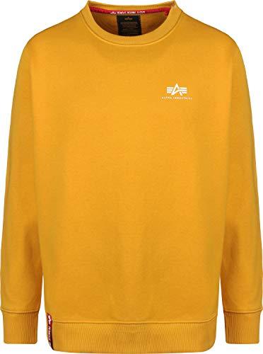 Alpha Industries Basic Small Logo Sweatshirt Gelb M