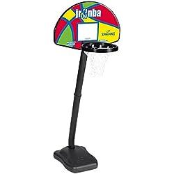 Spalding NBA (5H760SCN) Canasta, Multicolor, 24