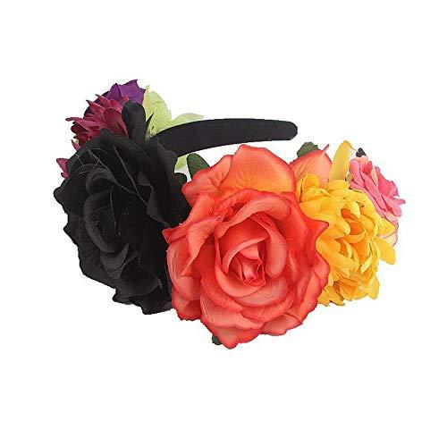 uck Halloween-Party Stirnband Rose Haarschmuck Braut Urlaub Kopf Schnalle weiblich,G ()
