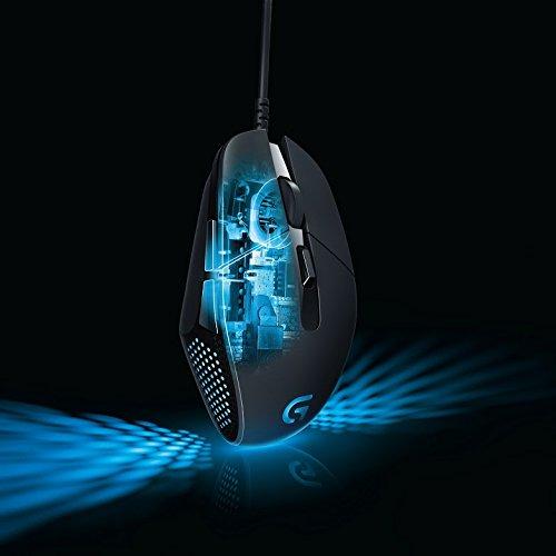 Logitech G302 Daedalus Prime MOBA Gaming Maus schwarz - 8