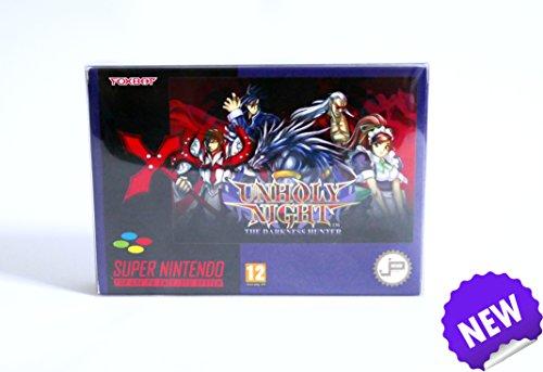 Unholy Night The Darkness Hunter PAL - neues SNES Game/ new SNES Game blue cartdridge/ blaues Modul (Neues Modul)