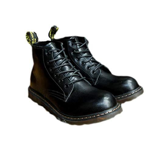 Punk Style - Botas para Hombre Negro Negro 40 EU, Color Negro,...